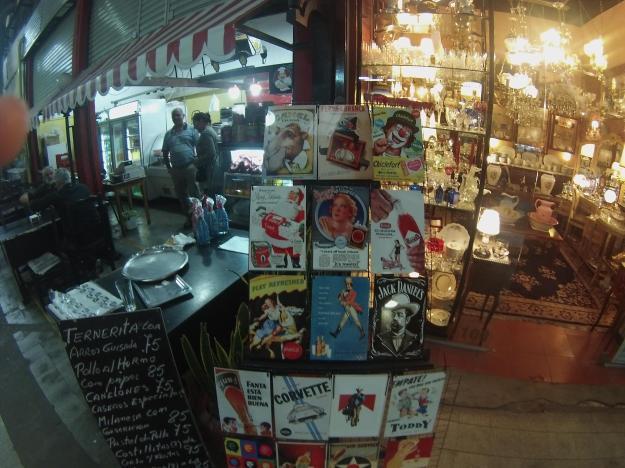 San Telmo pazarı bir nostalji cenneti